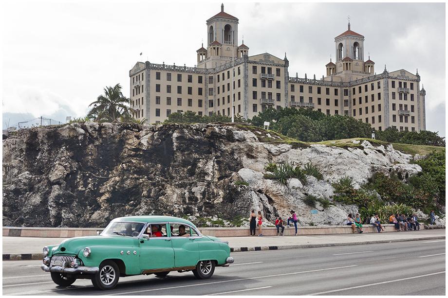 Hawana z widokiem na hotel nacionale