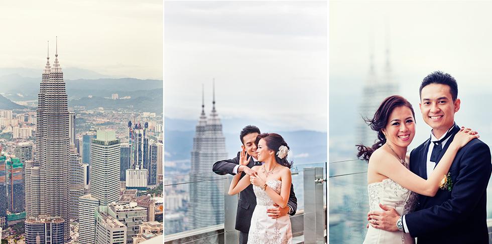 sesje ślubne w Azji Malezja
