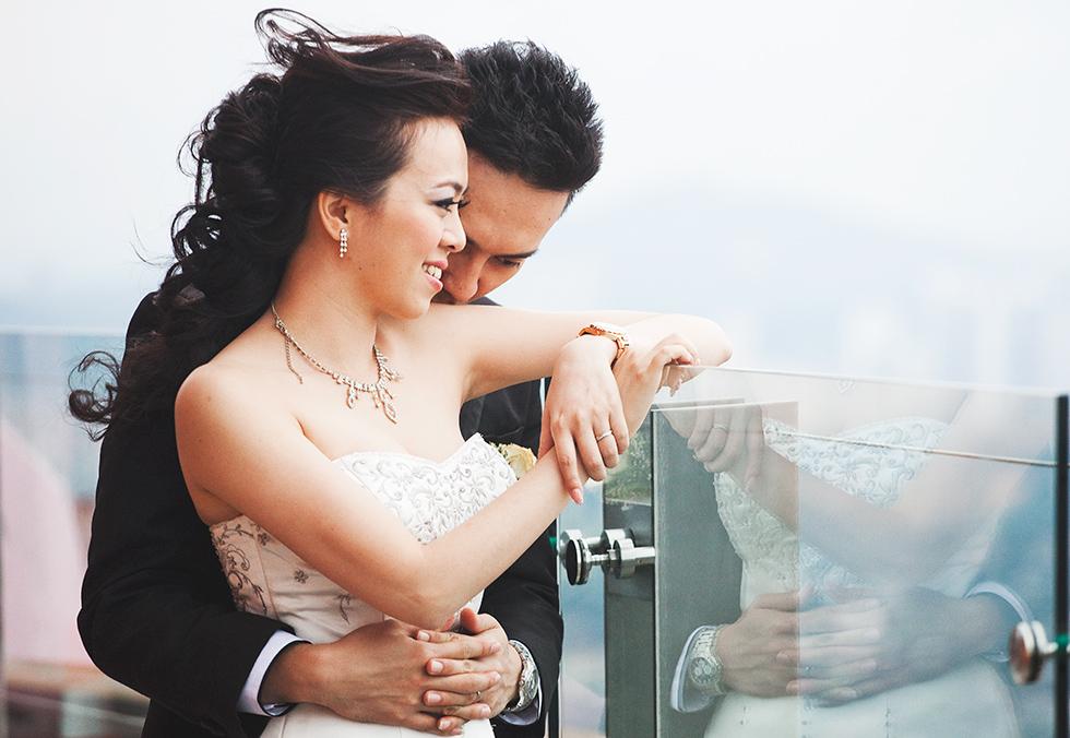 sesje ślubne w Azji Kuala Lumpur