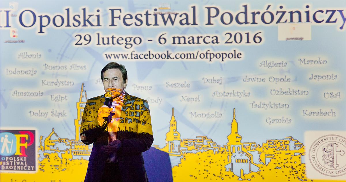 Opolski Festiwal Podróżniczy rozpoczęcie festiwalu