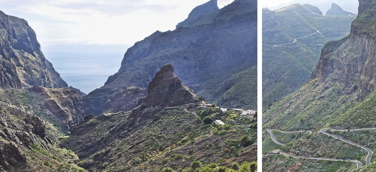 teneryfa masca góry fotografia podróżnicza