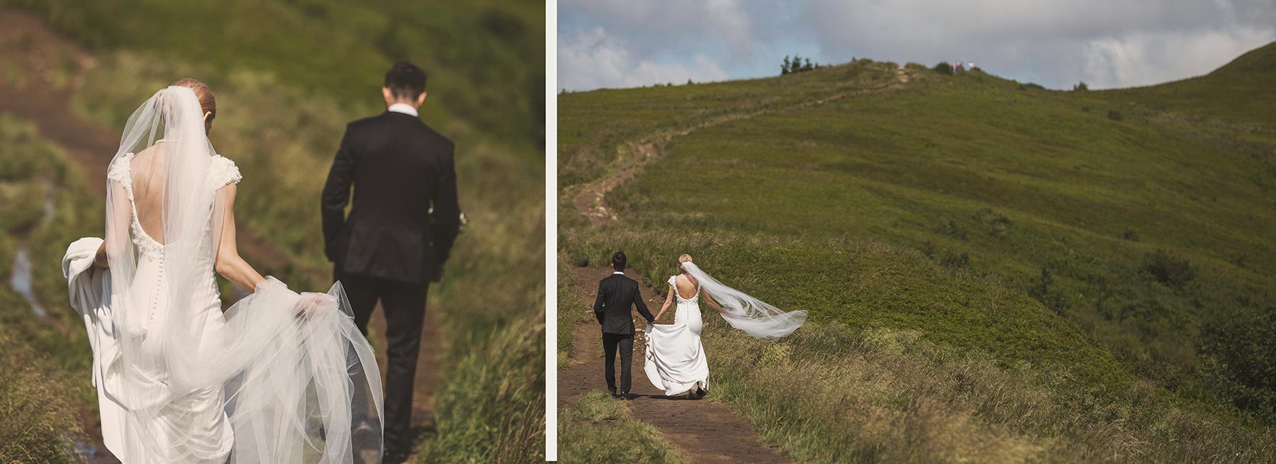 Piękna sesja ślubna w Bieszczadach